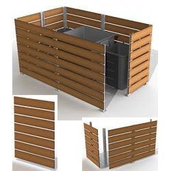 Module cache conteneur L 150 x H 157 cm