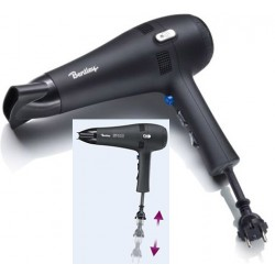 Sèche-cheveux à poser Sirocco 1800 W noir mat