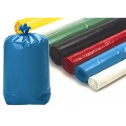 Sacs poubelle 50L rouges usage courant 14 microns (le carton de 500)