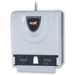 Distributeur d'essuie-mains Combi 600 feuilles ABS blanc