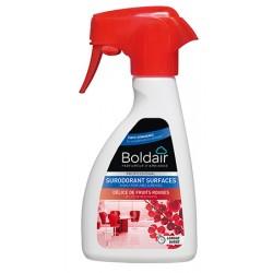 Lot de 6 flacons BOLDAIR surodorant 3D 250ml délices fruits rouges