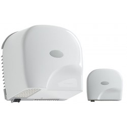 Sèche-mains automatique horizontal blanc