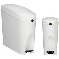 Poubelle hygiène féminine 20 L blanc