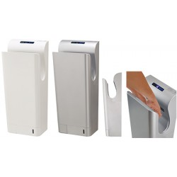 Sèche-mains automatique vertical Aery Prestige blanc