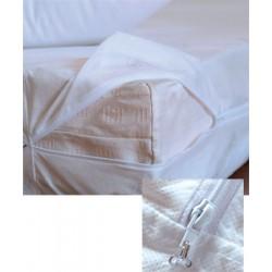 Lot de 12 housses de matelas anti-punaises de lit 80x200+20 cm