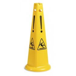 Cone de sécurité empilable diamètre 37xh 93cm