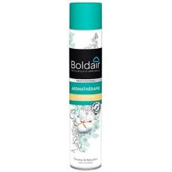 Lot de 6 aerosols desodorisants Boldair ACTIV fleur de coton 500 ml