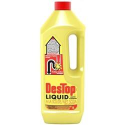 Lot de 15 bidons 1L Destop deboucheur liquide