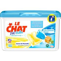 Lot de 160 caps Le Chat duo-bulles sensitive