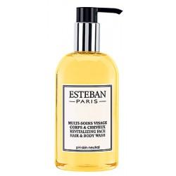 Lot de 24 flacons pompe Esteban Paris visage corps et cheveux 300 ml