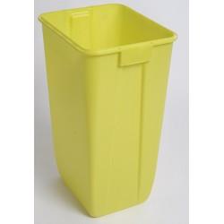 Fut à déchets étanche Dasri jaune 60L