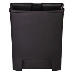 Bac Rigide simple pour Collecteur à pédale HACCP Slimjim 30 L large