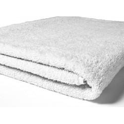 Serviette de toilette Jubba 50x90 cm coton 400g blanc