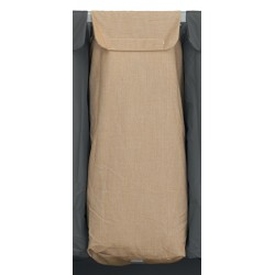 Sac en polyester beige 110L pour chariot Mondial