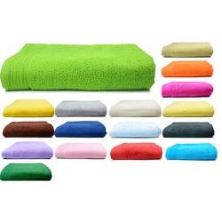 Serviette de toilette 100% coton 450 g couleur 50x100 cm