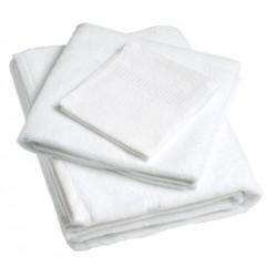 Lot de 36 serviettes 50x100cm fil simple 400g