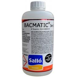 Détergent chloré et liquide de rinçage Bacmatic® 3 en 1 pour lave-vaisselles pro 1 kg