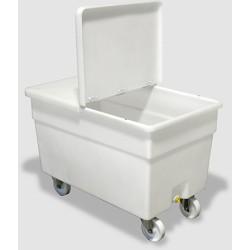 Container mobile pour buanderie 360L