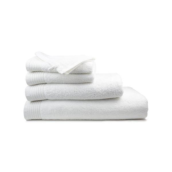 Serviette de toilette Pivoine blanc 50x100 cm 450g