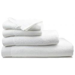 Drap de bain Pivoine blanc 70x140 cm 450g