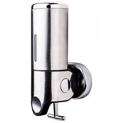 Distributeur de savon design inox brillant 500 ml