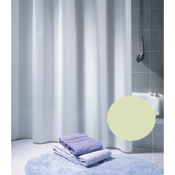 Rideau de douche Excellence 100% polyester hydrofugé sans anneaux champagne L180xH200 cm