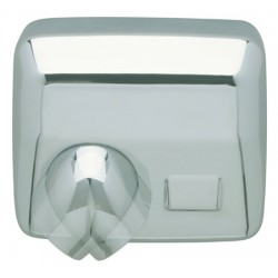 Sèche-mains JVD Ouragan automatique 2450W chromé