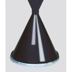 Cendrier conique : kit de fixation au sol