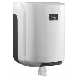 Grand dévidoir central ABS blanc JVD 450 feuilles diam 205 mm