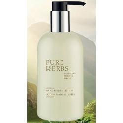 Lot de 24 flacons pompe Pure Herbs lotion corporelle 300 ml