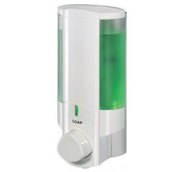Distributeur de savon 1 réservoir 300 ml blanc