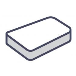 Lot de 75 alèses matelas plateau jetables blanc 140x190 cm