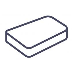 Lot de 75 alèses housse matelas jetables blanc 140x190x15 cm