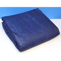 Couette jetable bleu marine pour lit 1 place 140x200 cm