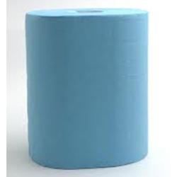 Lot de 2 bobines essuyage industriel Xl gaufré bleu Ecolabel