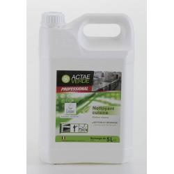 Nettoyant dégraissant cuisine Ecolabel en bidon de 5L (le lot de 2)