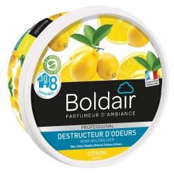 Lot de 6 unités Boldair gel destructeur d'odeurs citron 300 g