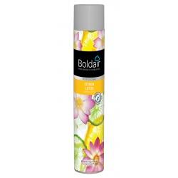 Lot de 12 aérosols Boldair parfumant citron lotus 750 ml