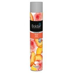 Lot de 12 Boldair parfumant pêche rose 750 ml