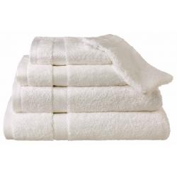 Drap de bain Hortense 70x140 cm 650g blanc