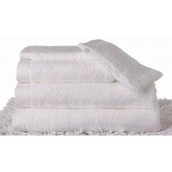 Drap de bain Carline 70x140 cm 550g blanc