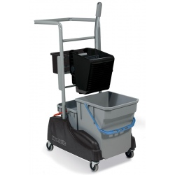Chariot de lavage avec seaux 15 et 28L + presse universelle RE-Flo 1