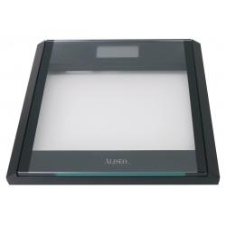 Pèse-personne électronique Tempo transparent et noir