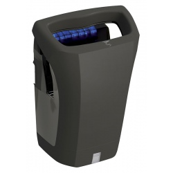 Sèche-mains automatique JVD Stell Air 1200 W noir mat
