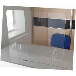 Lot de 5 écrans de protection grand modèle avec trappe et sans trous L 90 x H 65 cm