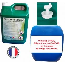 Bidon de désinfectant de surfaces Désogerme Agrisec 30L