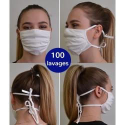 Lot de 500 masques en tissu cat 1 professionnels en contact avec le public