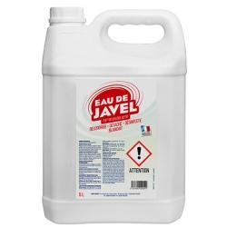 Lot de 3 bidons de 5 L d'eau de javel 2,6%
