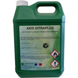 Bidon de nettoyant vitre ultra-concentré parfumé à diluer Axis Vitraplus 5L
