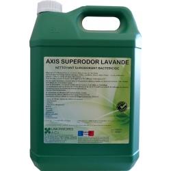 Nettoyant bactéricide multisurfaces lavande Axis Superodor à diluer 5L